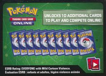 Evolutions Unused Online Booster - X&Y Evolutions