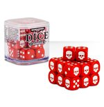 Games Workshop Dice Cube Red