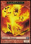 Elemental TOKEN 2 1/1 - Magic 2014