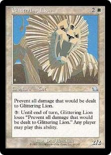 Glittering Lion - Prophecy