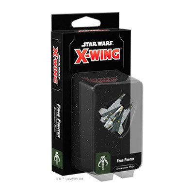 Star Wars X-Wing Miniatures Game Second Edition Fang Fighter Expansion Pack (ENNAKKO)