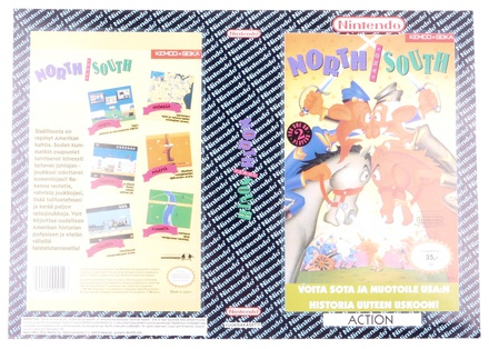 North & South (Orginal YAPON Rental Cover Paper)