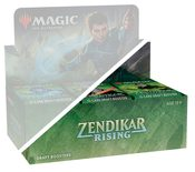Zendikar Rising Draft Booster Half Display