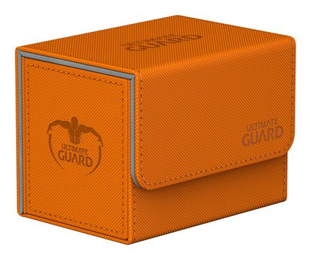 Ultimate Guard Deck Box, SideWinder XenoSkin 80+ Orange