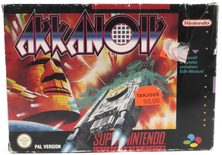 EMPTY BOX - Arkanoid (manual + box only, no game!)