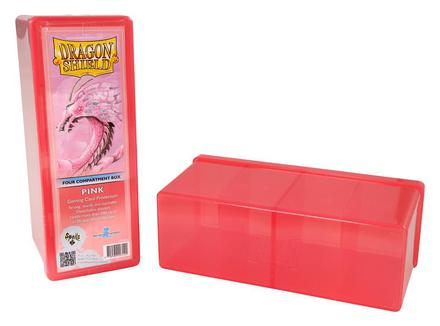 Dragon Shield Deck Box, 4 Compartment, Pink