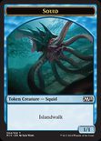 Squid TOKEN 1/1 - Magic 2015