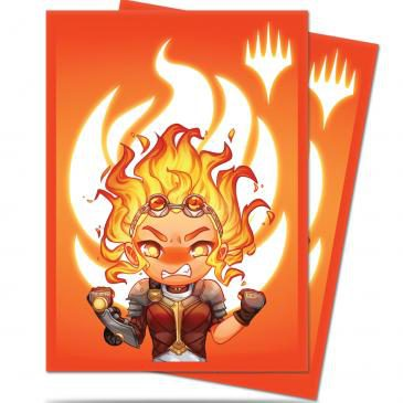 Ultra Pro Chibi Collection Chandra - Maximum Power Standard Deck Protector sleeves (100pcs)