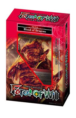 Force of Will Reiya Cluster Starter Deck: Blood of Dragons (Fire)