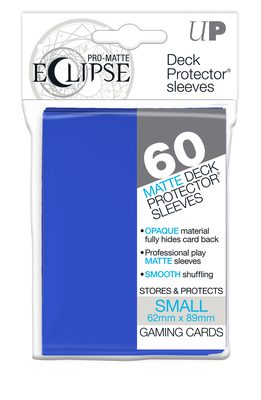 Ultra Pro Japanese Size Sleeves Eclipse, Blue Bundle (10x, 60ct)