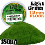 GSW Static Grass Flock 12mm: Light Green (180ml)