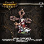 Protectorate of Menoth Monolith Bearer: Holy Zealot Unit Attachment
