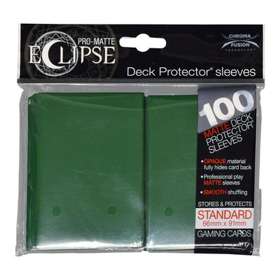 Ultra Pro Sleeves Standard Size Eclipse Forest Green (100ct)