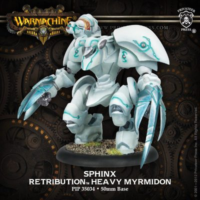Retribution of Scyrah Heavy Myrmidon Banshee / Daemon / Sphinx