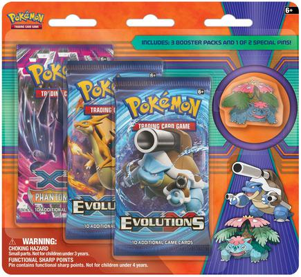 Mega Evolution Collector's Pin 3-Pack Blister Venusaur