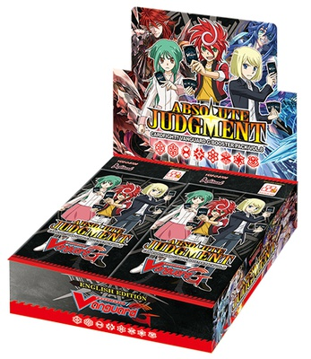 Cardfight Vanguard G Booster Pack Vol. 8: Absolute Judgment Booster Display Box
