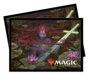 Ultra Pro MTG Throne of Eldraine Deck Protector Standard Sleeves Emry, Lurker of the Loch (100ct)