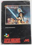 Super Star Wars Return of the Jedi (Manual)