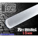 Rolling Pin: Pavement 15mm