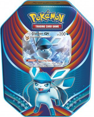 Pokemon Evolution Celebration Tin: Glaceon GX
