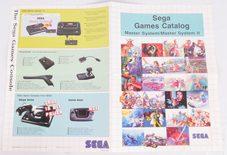 Sega Games Catalog For Master System