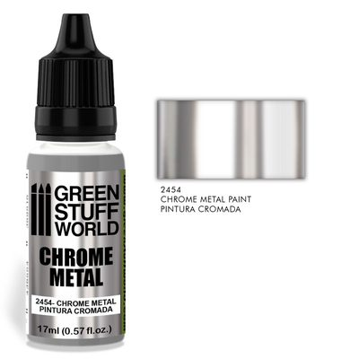 GSW Chrome Metal Paint for Brush 17ml