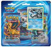 Pokemon XY12: Evolutions 3-Pack Blister: Black Kyurem