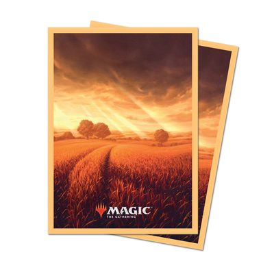 Unstable Lands Plains Standard Deck Protector sleeves (100pcs) (PREORDER)