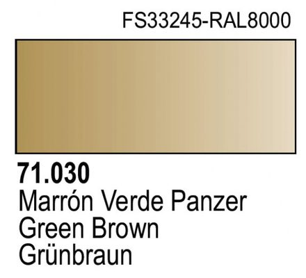 Vallejo Model Air: Green Brown 71.030