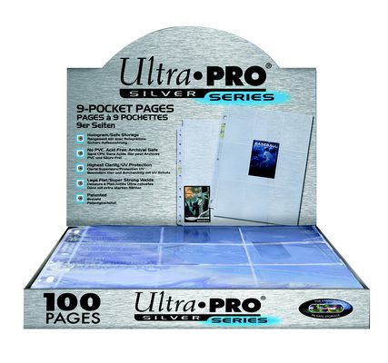 Ultra Pro Silver Binder Page