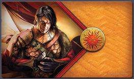 A Game of Thrones Playmat: The Red Viper