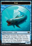 Fish 3/3 // Zombie x/x TOKEN - Commander 2014