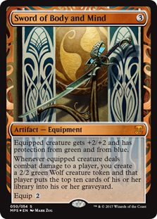 Sword of Body and Mind - Kaladesh Inventions
