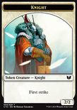 Knight 2/2 (First Strike) // Elemental Shaman 3/1 TOKEN - Commander 2015