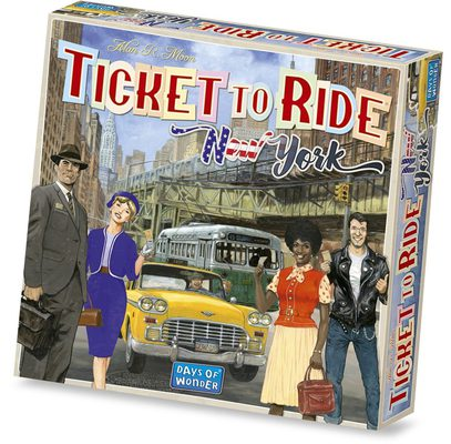 Ticket to Ride: New York (FI/SE/NO/DK)