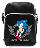 Sonic Messenger Bag: Too slow