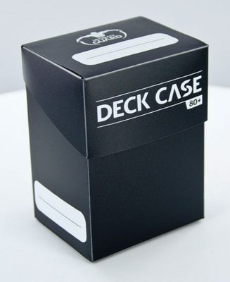 Ultimate Guard Deck Box, 80+ Black