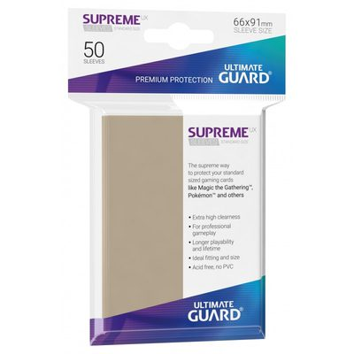 Ultimate Guard Supreme UX Sleeves Sand (50pcs)