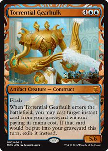 Torrential Gearhulk - Kaladesh Inventions