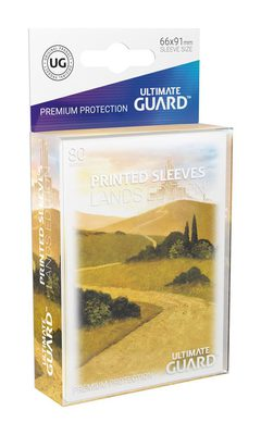 Ultimate Guard Printed Sleeves Standard Size Lands Edition I: Plains (80ct)
