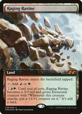 Raging Ravine - Ultimate Box Topper