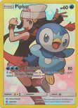 Piplup Secret Rare 239/236 - Sun & Moon Cosmic Eclipse