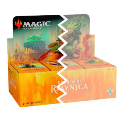 Guilds of Ravnica Half Box (ENNAKKO)