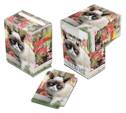 Ultra Pro Deck Box: Grumpy Cat Flowers