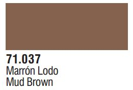 Vallejo Model Air: Mud Brown 71.037