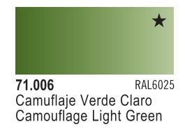 Vallejo Model Air: Camouflage Light Green 71.006