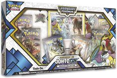 Pokemon Collection Box: Legends of Johto GX