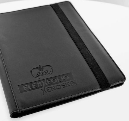 Ultimate Guard FlexXfolio Xenoskin 9 Pocket Black Binder