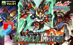 Future Card Buddyfight H Extra Set 1: Miracle Impack! Booster