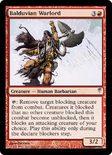Balduvian Warlord - Coldsnap